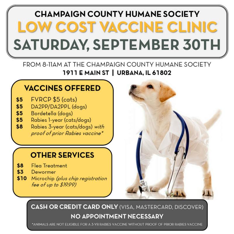 Vaccine Clinic > Events Calendar